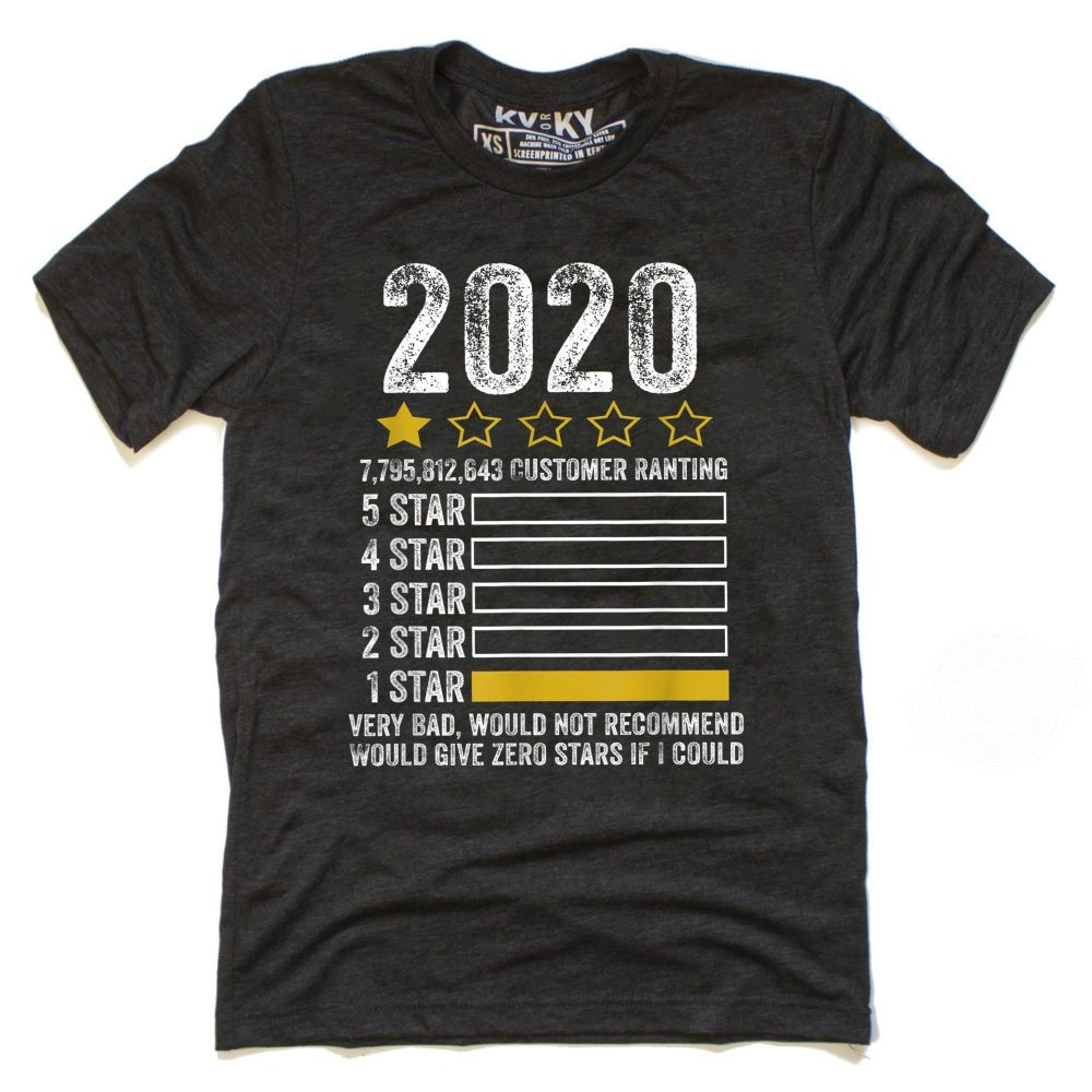 2020 1 Star Very Bad Would Not Recommend Shirt