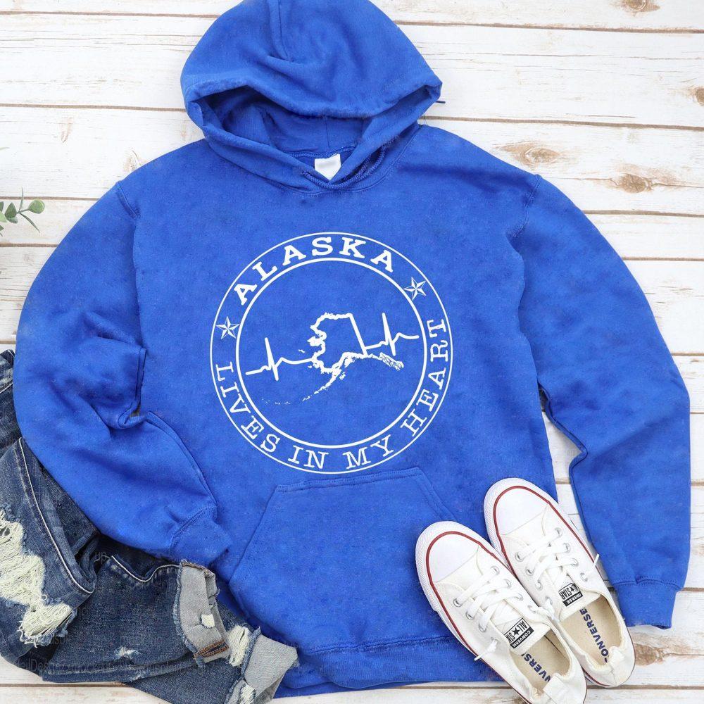 Alaska Lives In My Heart Shirt