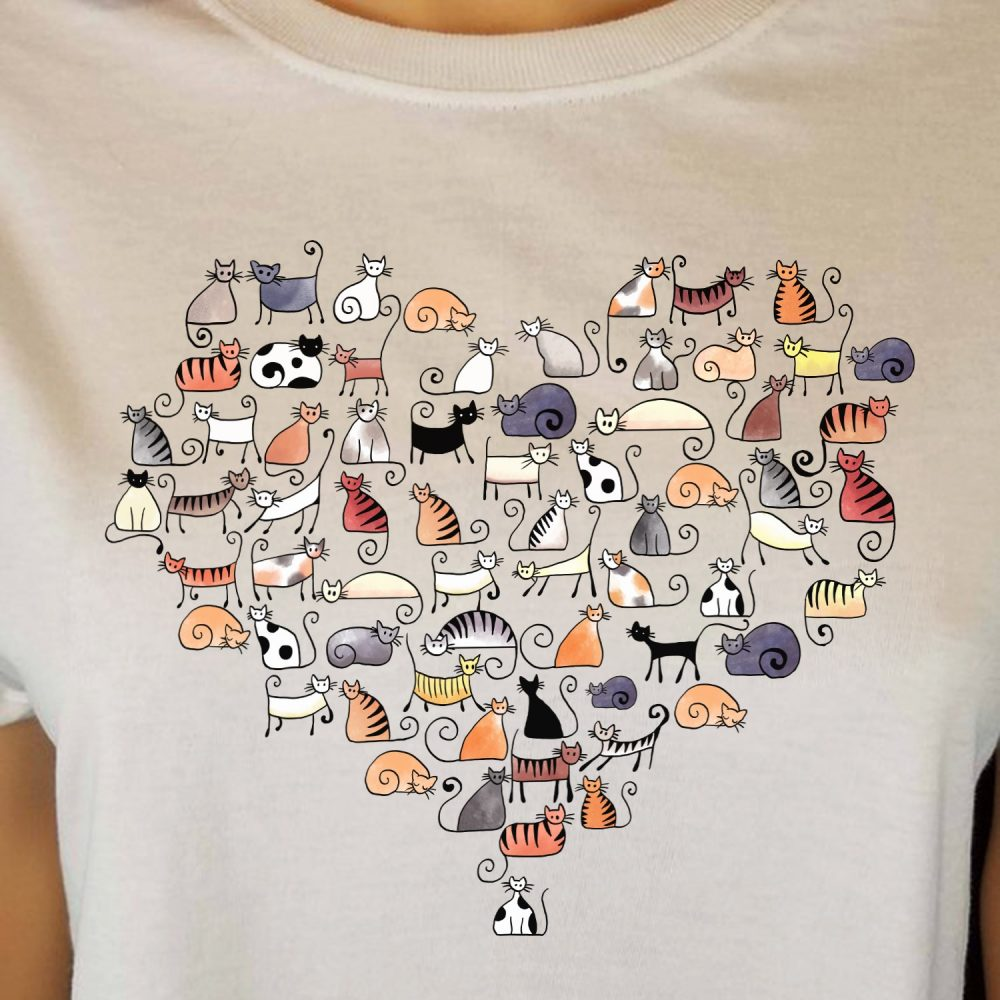 All The Cats Lover Shirt