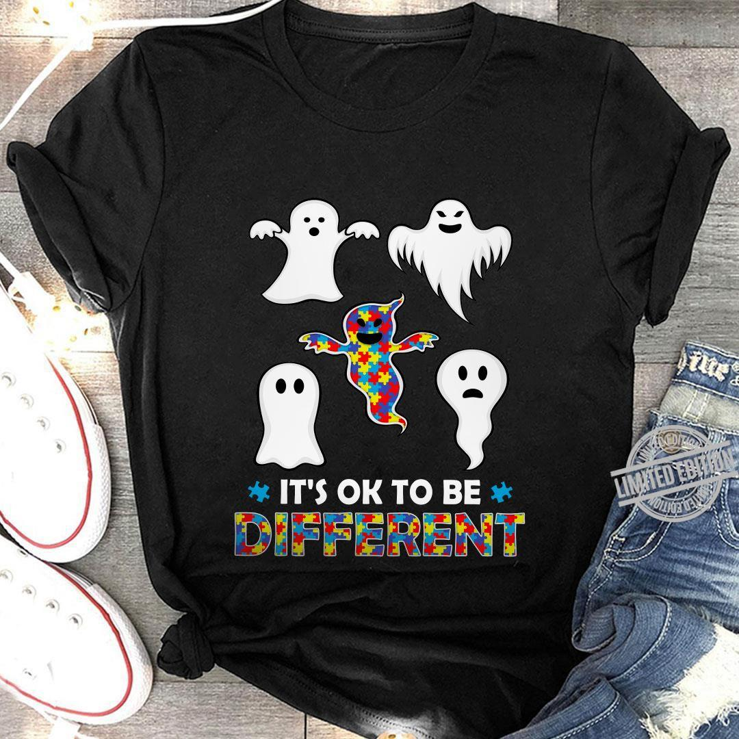 Autism It's Ok To Be Different Shirt