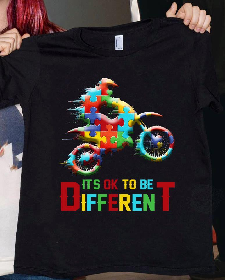 Autism It's Ol to Be Different Shirt
