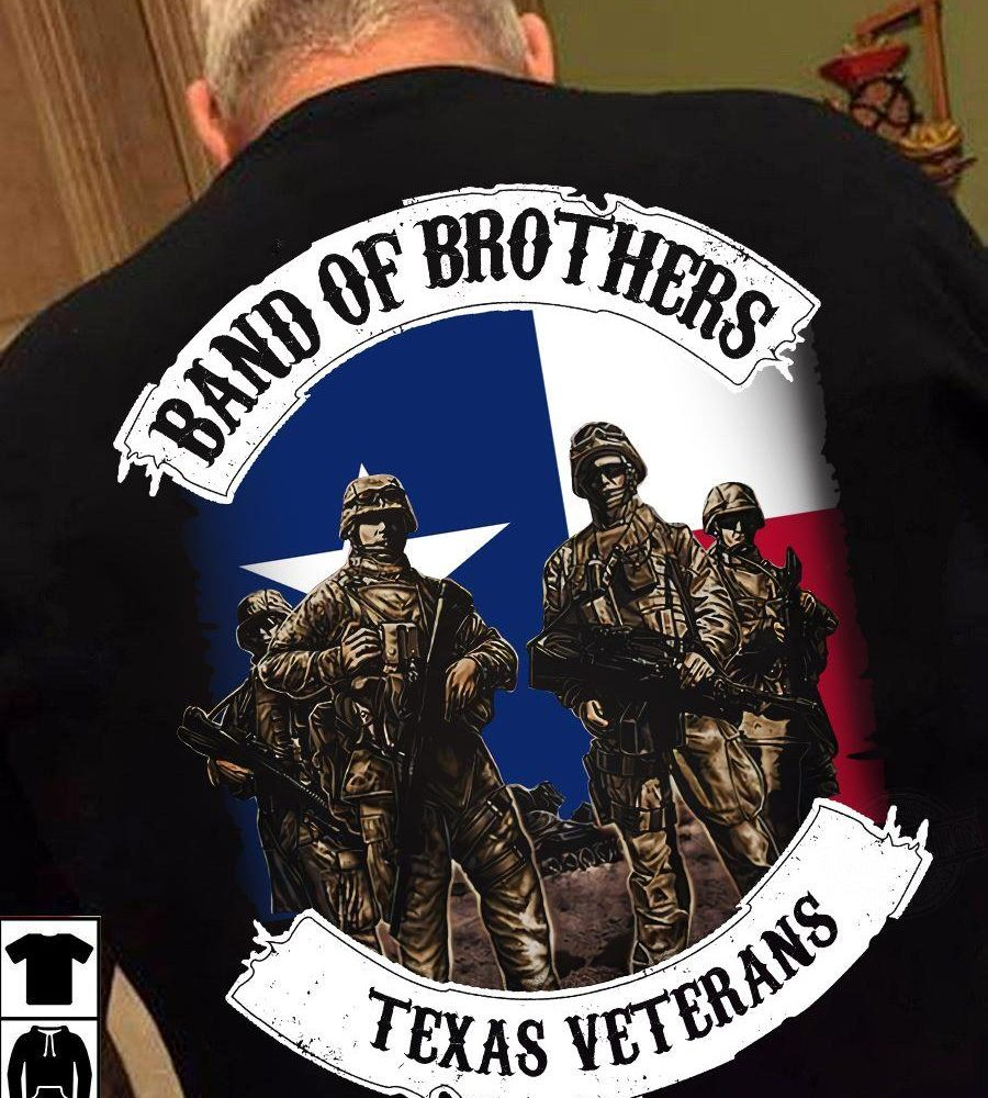 Band of Brother Texas Veterans Shirt
