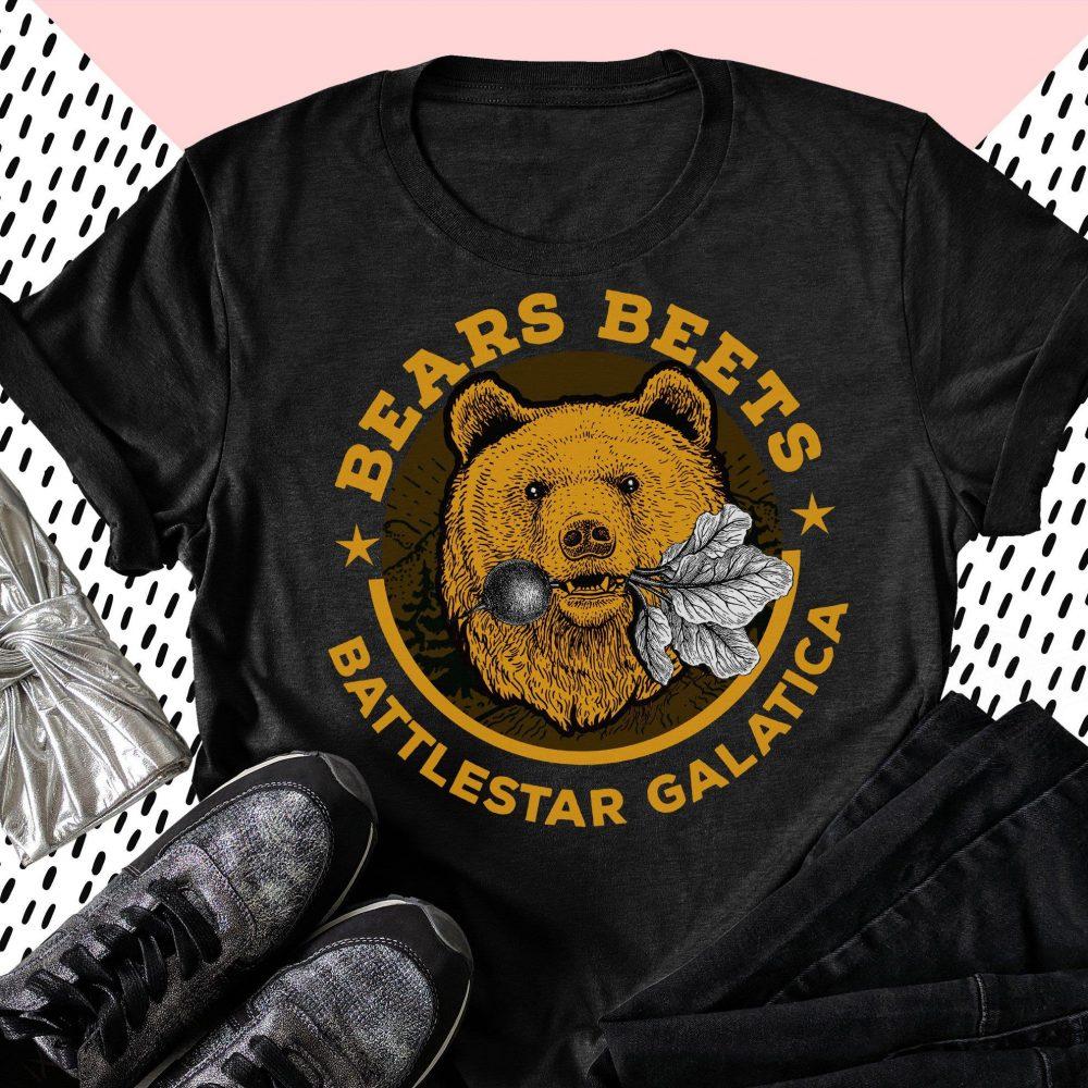 Bears Beets Battlestar Galatica Shirt
