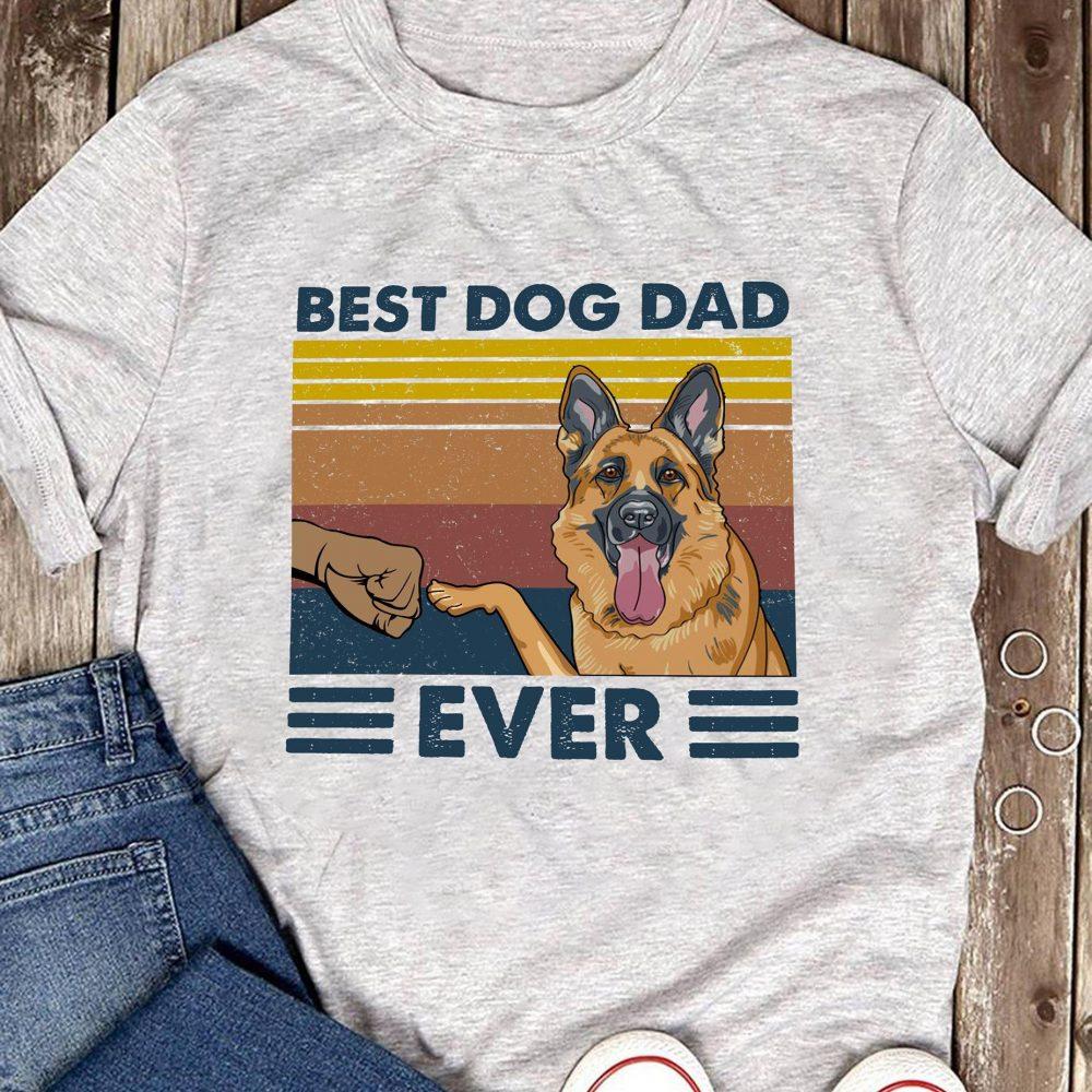 Best Dog Dad Ever Shirt