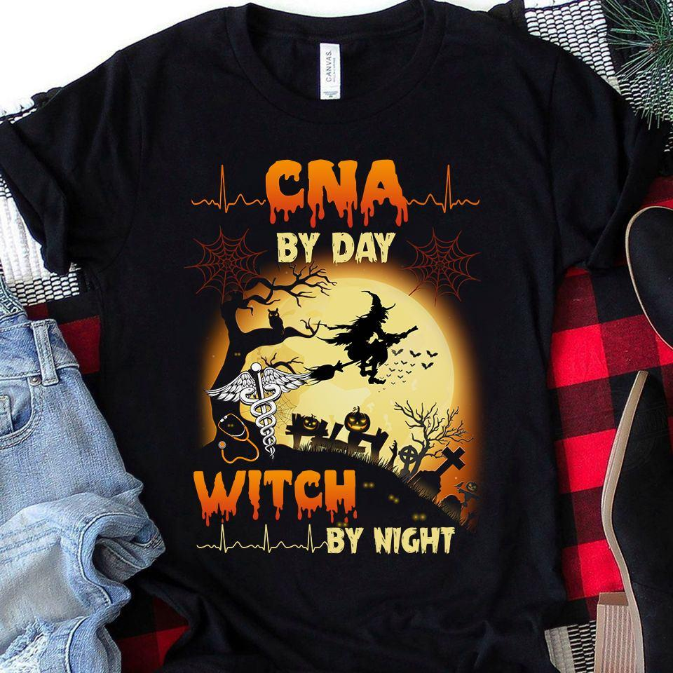 CNA By Day Witch By Night Shirt