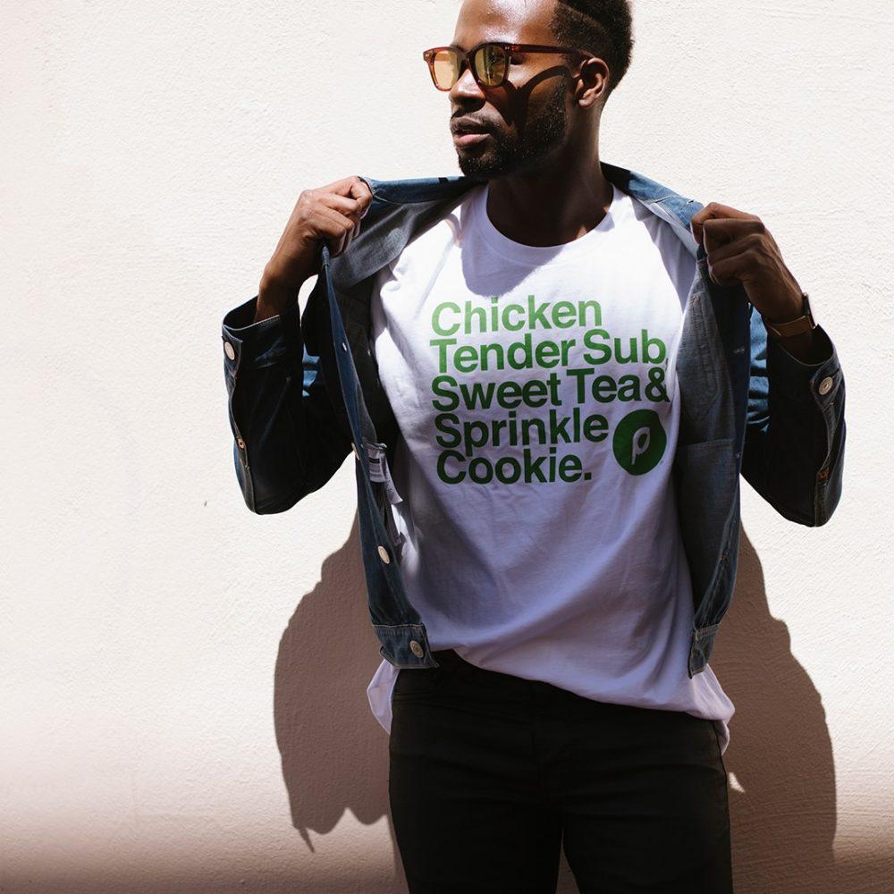 Chicken Tender Sub Sweet Tea & Sprinkle Cookie Shirt
