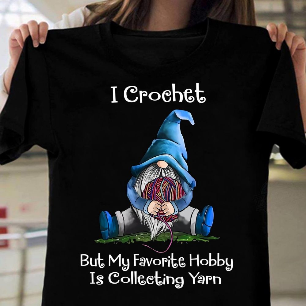 Crochet Collecting Yarn Shirt