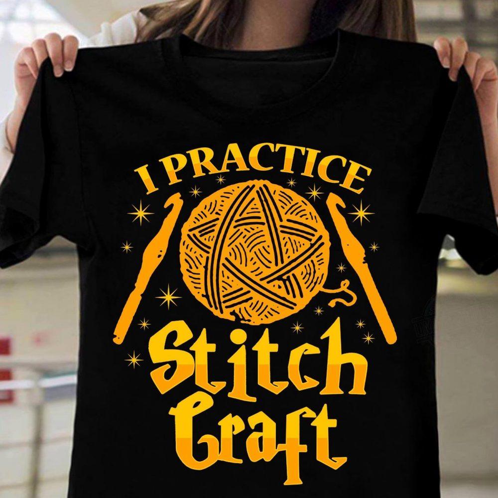Crochet Stitch Craft Shirt