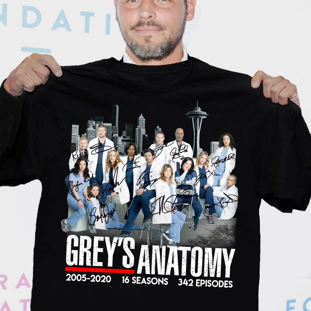 Grey's Anatomy Signatures Men T-Shirt