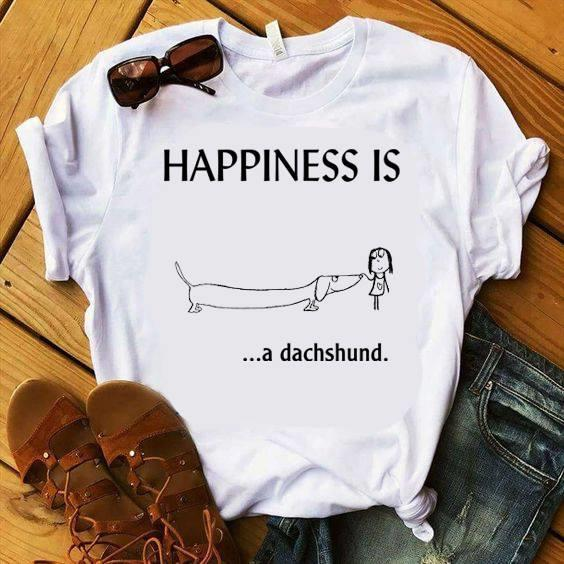 Happiness Is A Dachshund Shirt