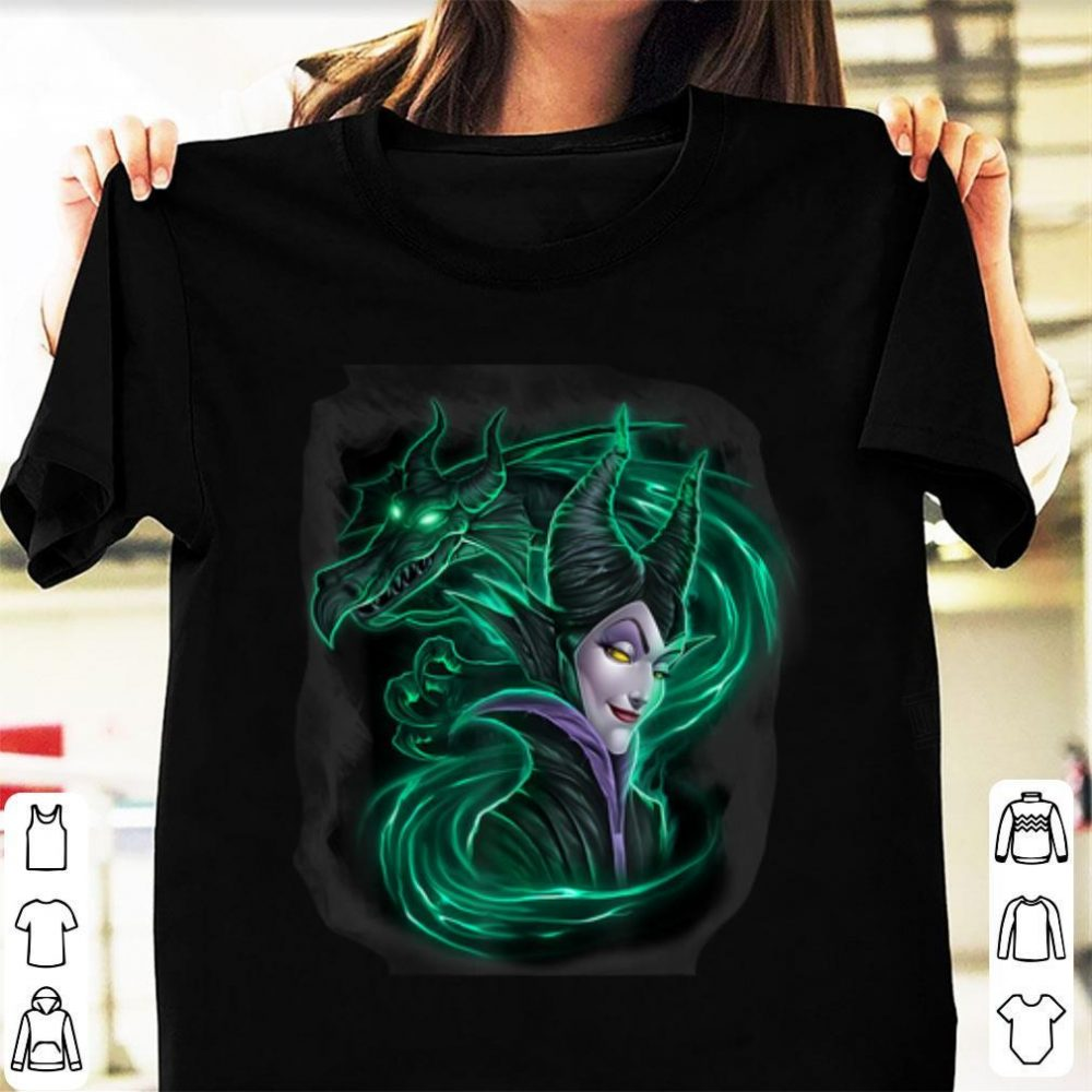 Hot Disney Sleeping Beauty Maleficent Dark Magic Shirt