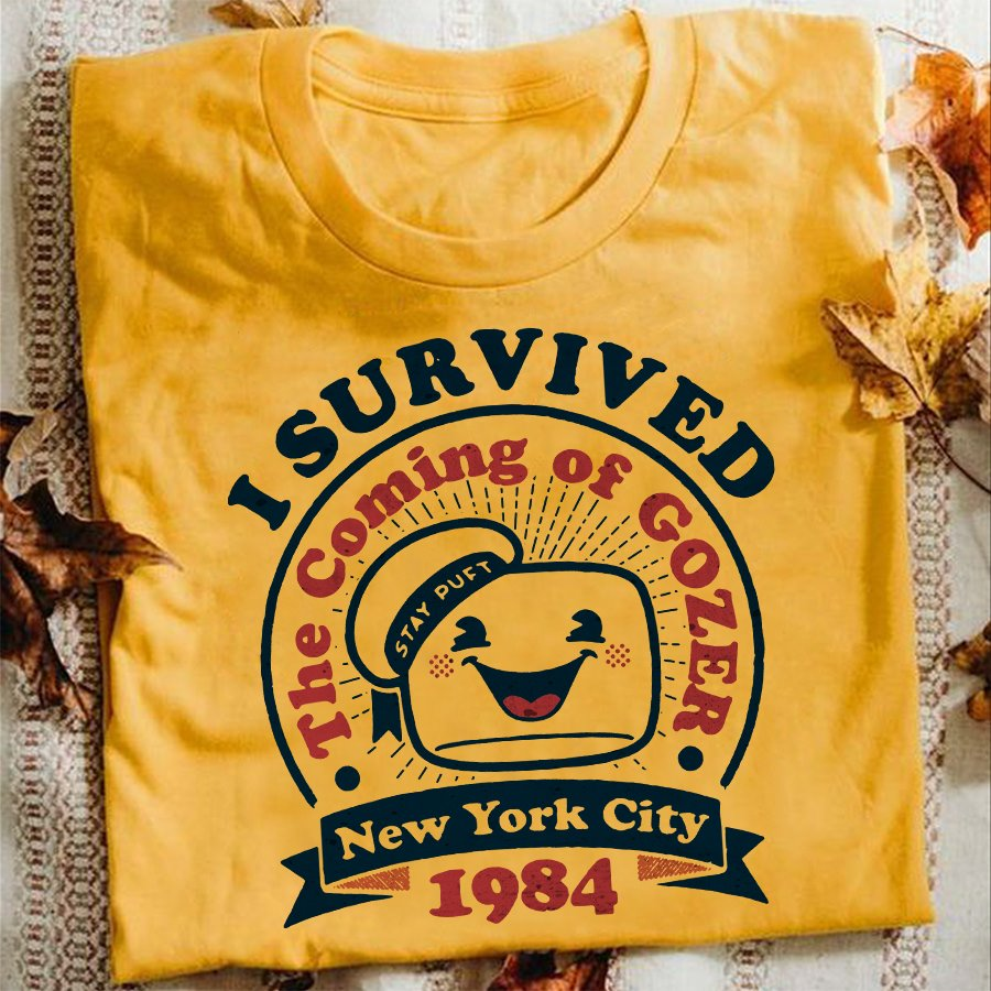 I Survived The Coming Of Gozer New York City 1984 Shirt