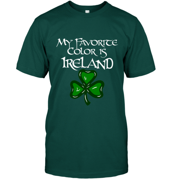 My Favorite Color Is Ireland Shirt