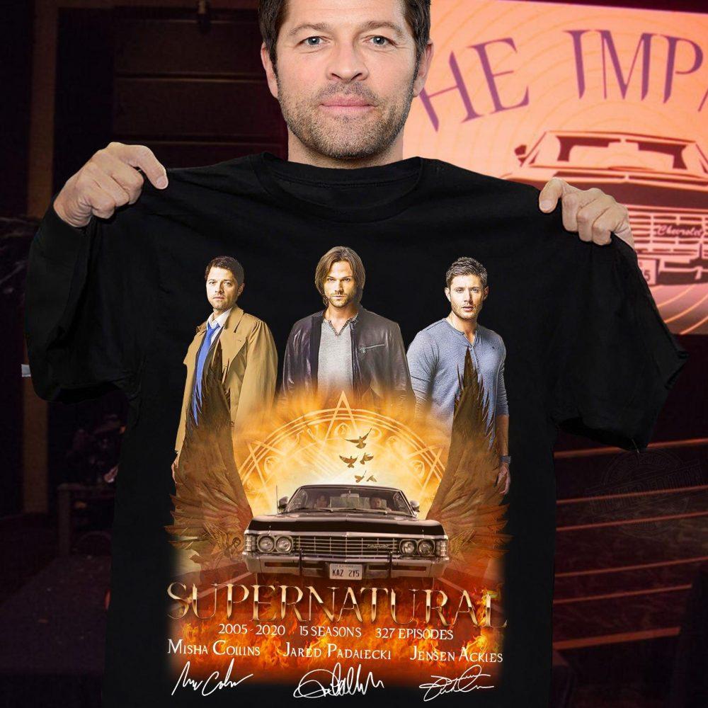 Supernatural Members Signature Shirt