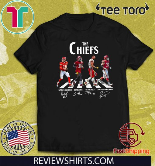 The Chiefs Patrick Mahomes Tyreek Hill Travis Kelce Laurent Duyearay Tardif Shirt
