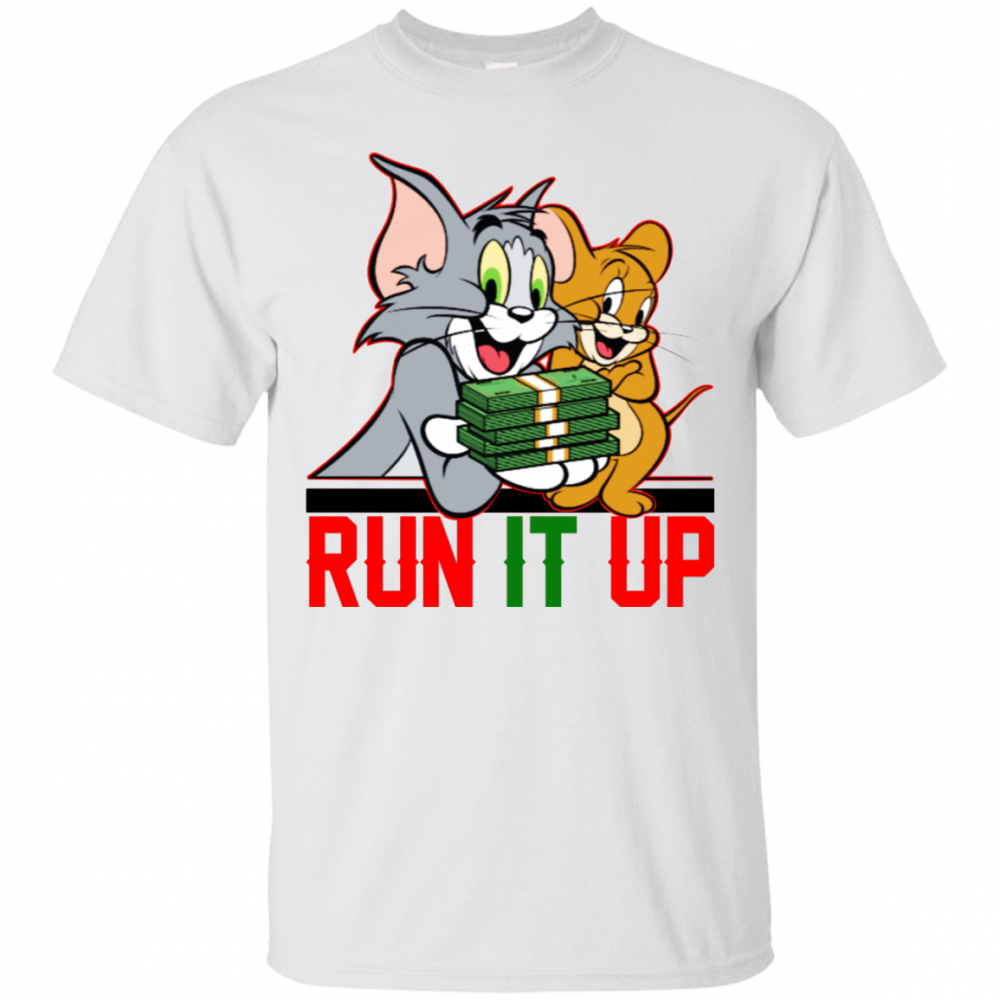 Tom And Jerry Run It up Shirt
