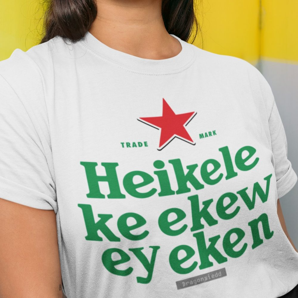 Trade Mark Heikele Ke ekew ey eken Shirt