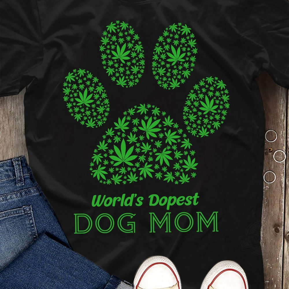 World's Dopest Dog Mom Shirt